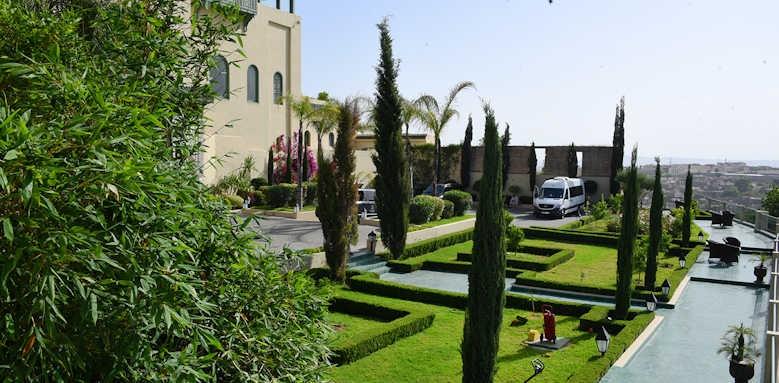 Palais Faraj, hotel gardens