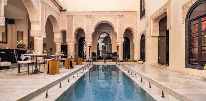Riad Fes, pool