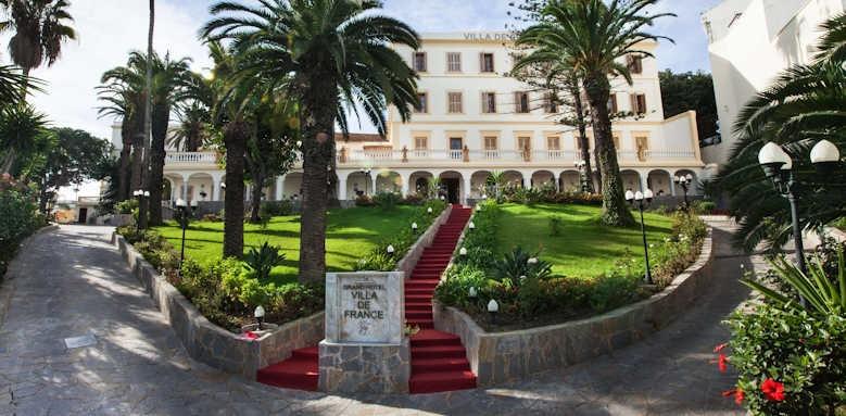 Villa de France, front of hotel