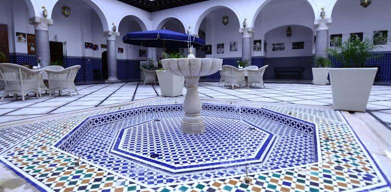 El Minzah, interior of hotel