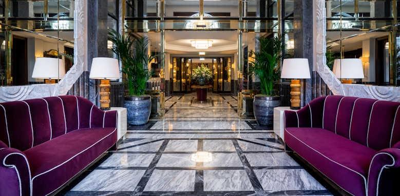 Le Monumental Palace, hotel lobby