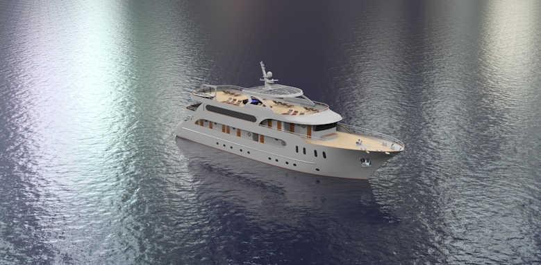 MS San Spirito, view of cruiser