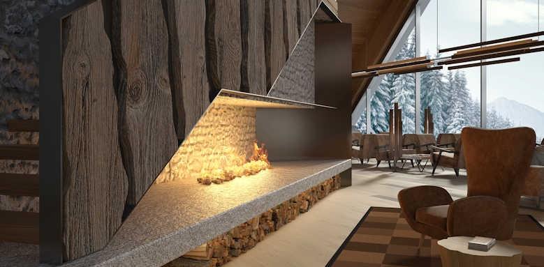 Lefay Resort & Spa Dolomiti, lobby area