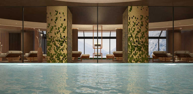 Lefay Resort & Spa Dolomiti, spa whirlpool