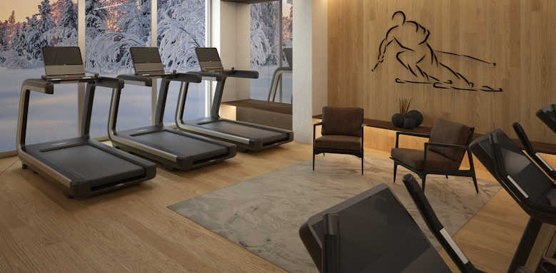 Lefay Resort & Spa Dolomiti, fitness centre