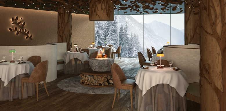 Lefay Resort & Spa Dolomiti, Grual restaurant