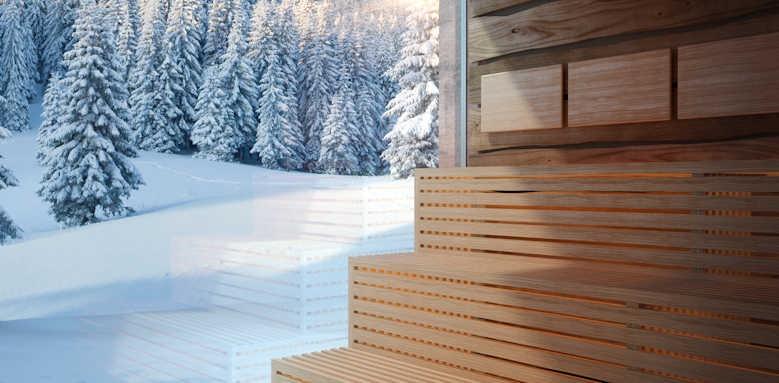 Lefay Resort & Spa Dolomiti, spa sauna