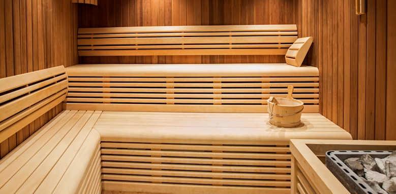 Marvie Hotel & Health, sauna