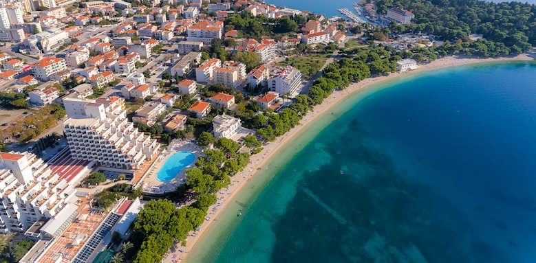 Valamar Meteor Hotel, aerial view
