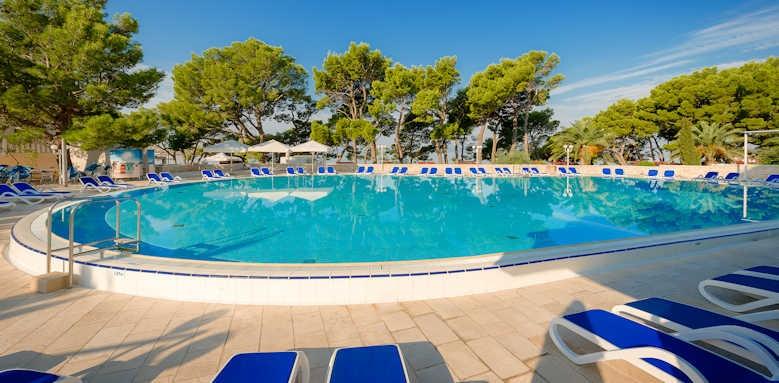 Valamar Meteor Hotel, pool area