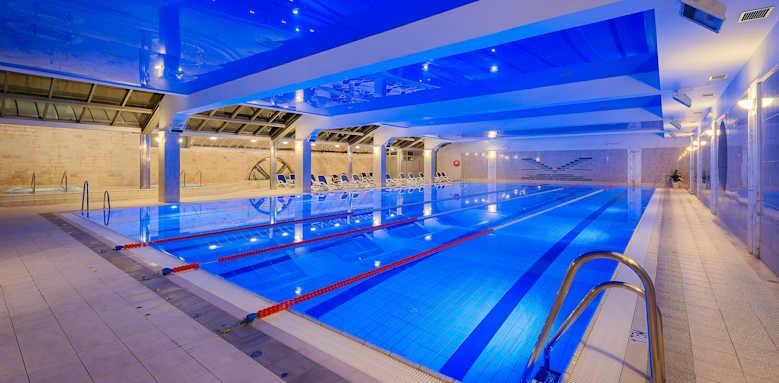 Valamar Meteor Hotel, inside pool