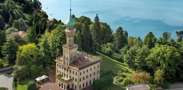 Villa Crespi, lake view