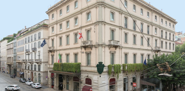 Grand Hotel et de Milan, exterior