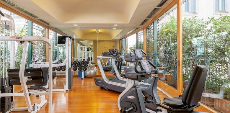 Grand Hotel et de Milan, gym