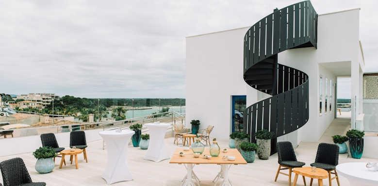 Hotel Honucai, rooftop area