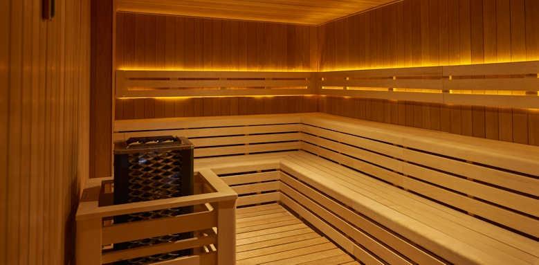 Hotel Huma, sauna