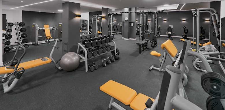 Hotel Huma, gym