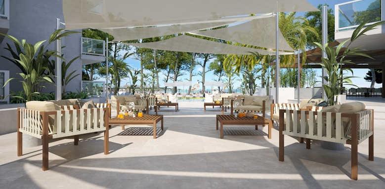 Sofia Alcudia Beach, sitting area