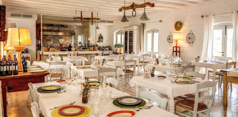 Masseria Cervarolo, restaurant