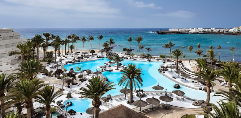 Melia Salinas, main pool and sea view