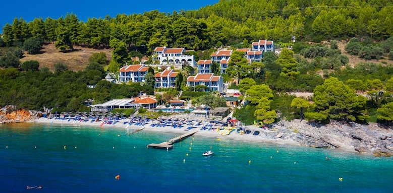 Adrina Beach Hotel, aerial view