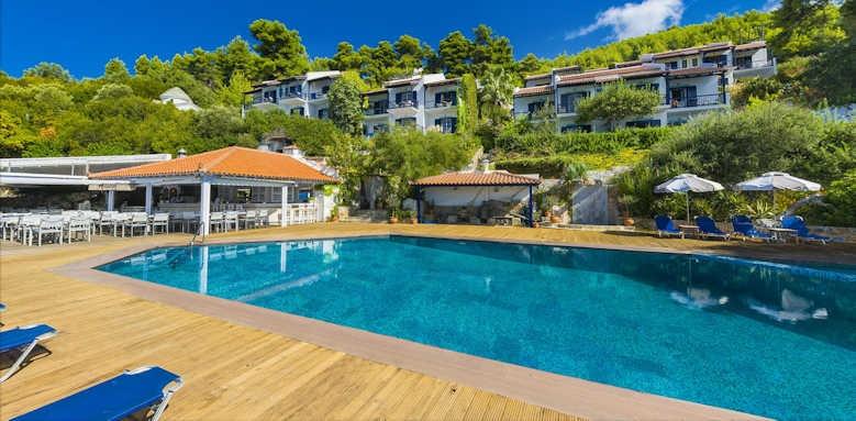 Adrina Beach Hotel, pool area