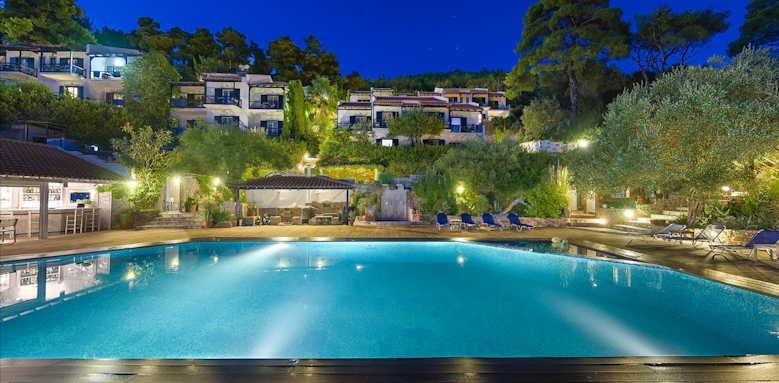 Adrina Beach Hotel, night view