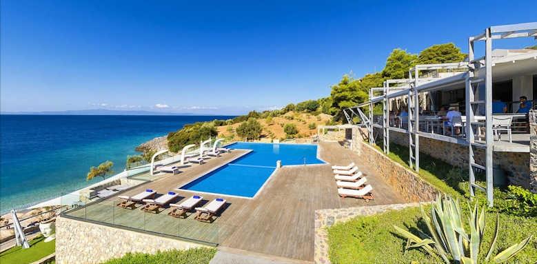Adrina Resort & Spa, pool area