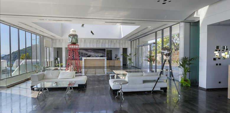 Adrina Resort & Spa, reception area