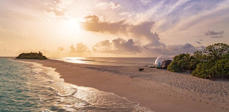 Finolhu, bubble tent
