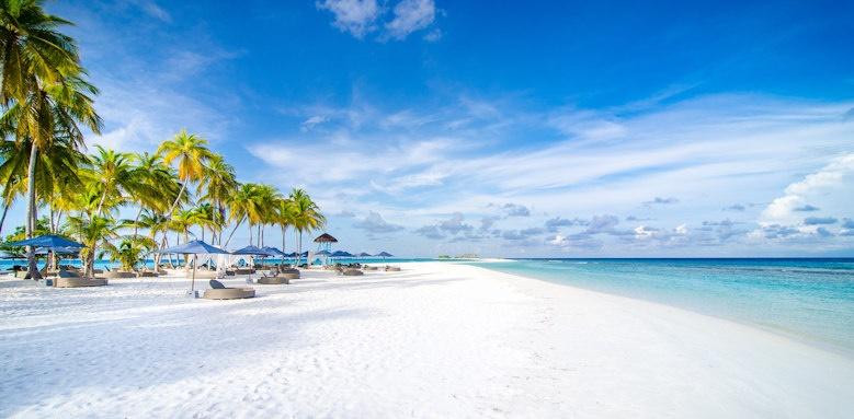 Finolhu, beach