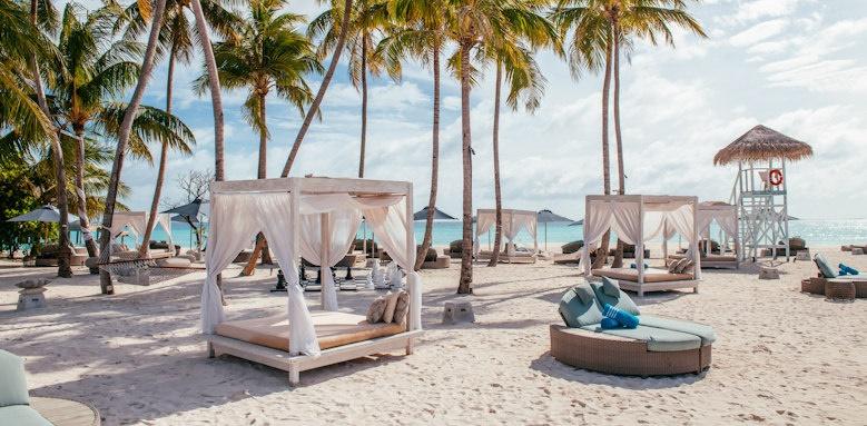 Finolhu, beach cabanas