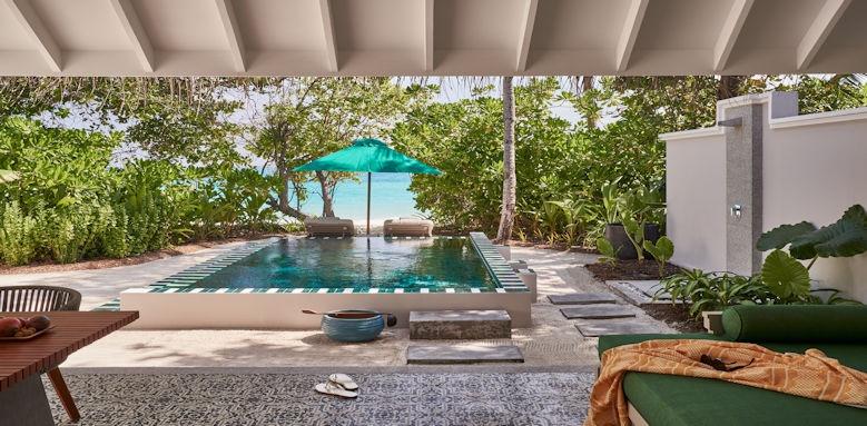 Finolhu Maldives private pool