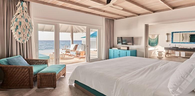 Finolhu Maldives bedroom