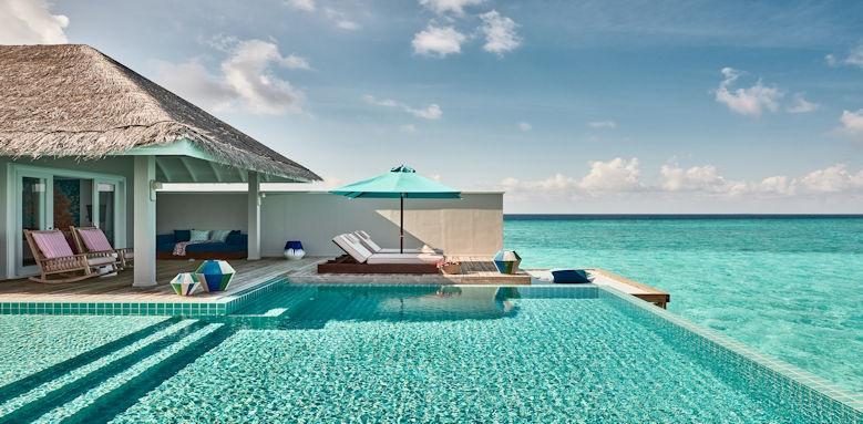 Finolhu Maldives overwater private pool