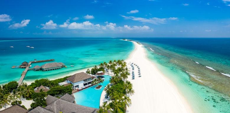 Finolhu Maldives Aerial