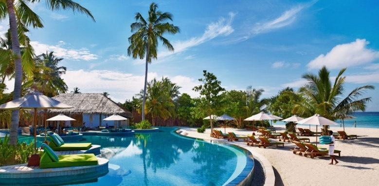 Six Senses Laamu, swimming pool