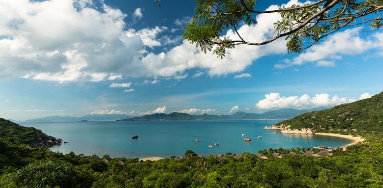 Six Senses Ninh Van Bay, aerial view