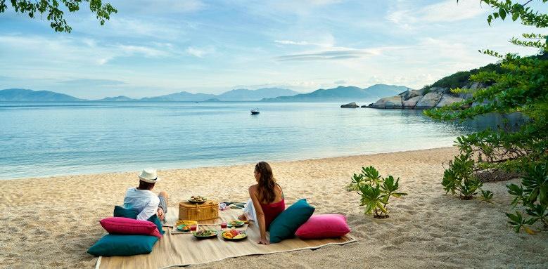 Six Senses Ninh Van Bay, beach picnic