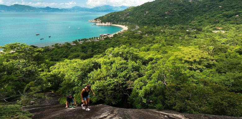 Six Senses Ninh Van Bay, hiking trail