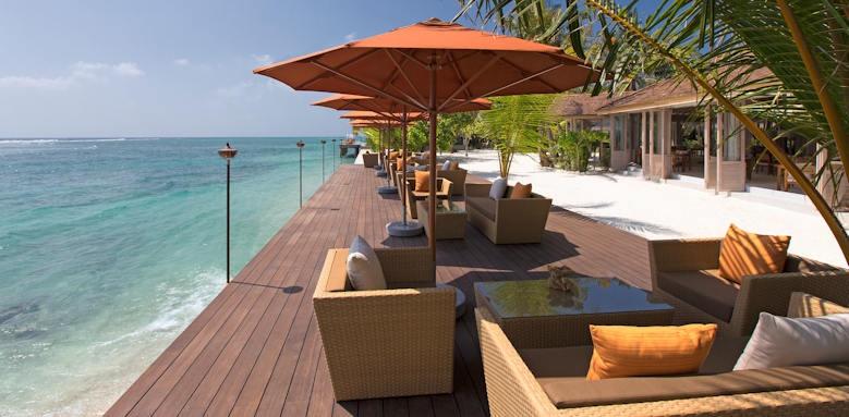 Anantara Veli Resort & Spa, ocean deck