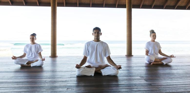 Anantara Veli Resort & Spa, yoga