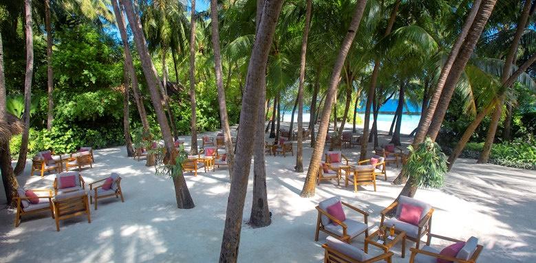 Baros Maldives, garden