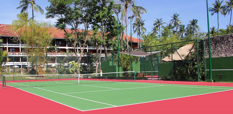 Melia Bali, tennis court