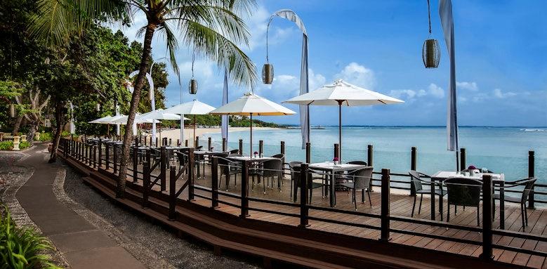 Melia Bali, seaside restaurant