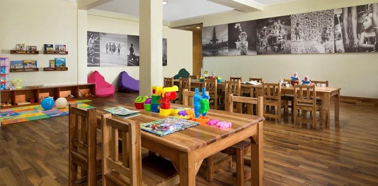 Melia Bali, kids club