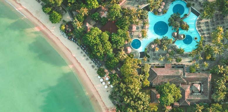 Melia Bali, aerial view