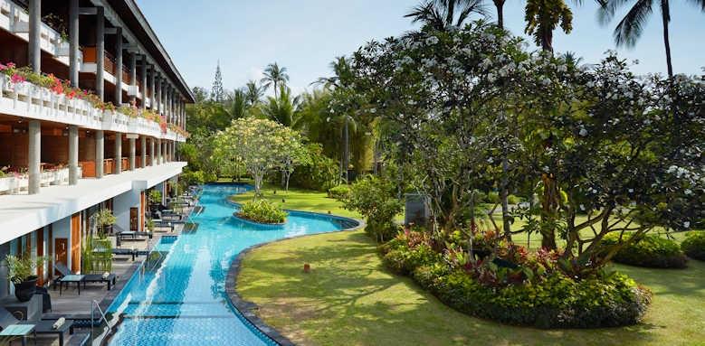 Melia Bali, lagoon pool