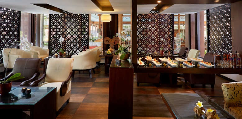 Melia Bali, lounge area