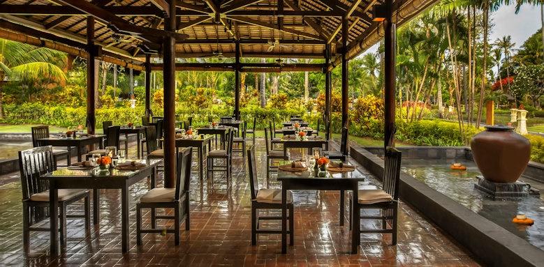 Melia Bali, garden restaurant